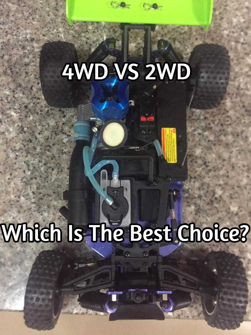 2WD VS 4WD RC Vehicles – Which Is Higher For You?