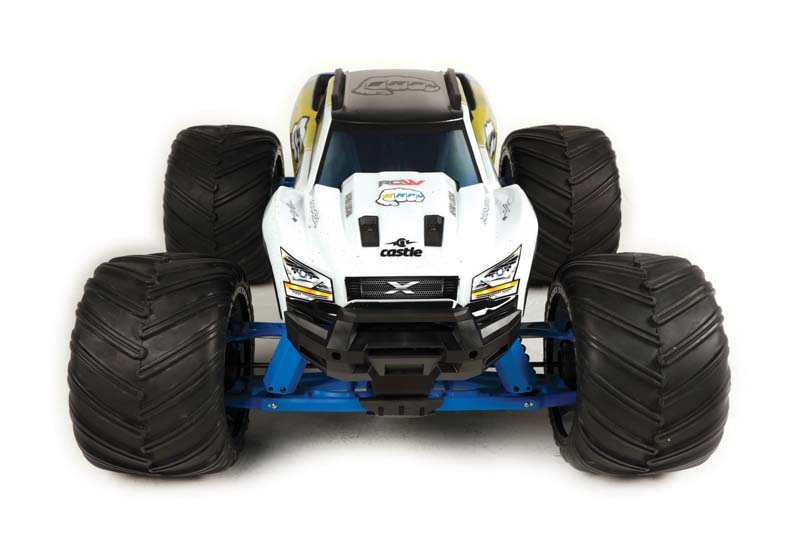 Bigger & Badder – RPM R/C Products & RCWERKz Put The Monster In This X-Maxx Monster Truck