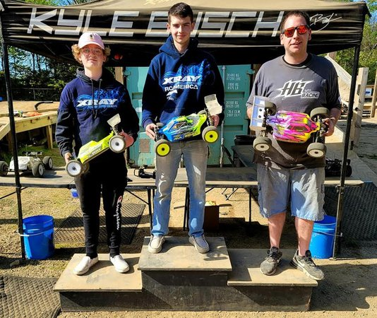 Ciccarello and Beiter Win 3rd Annual Winter is Over Event