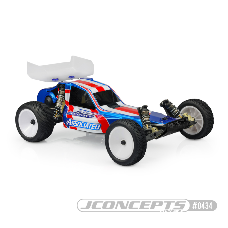 JConcepts New Release – Protector RC10 Body w/ 5.5″ Wing
