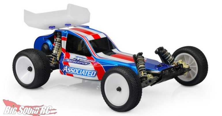JConcepts Protector RC10 Clear Body with 5.5″ Wing