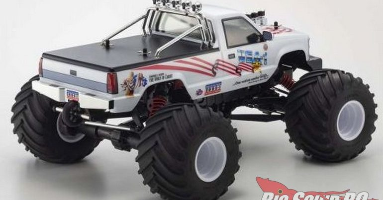 Monster Truck Madness – The Kyosho USA-1 Returns