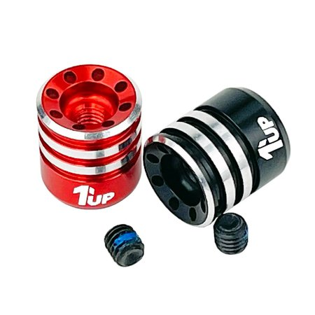 New 1up Racing Pro Wire Clamp and Heatsink Bullet Plugs