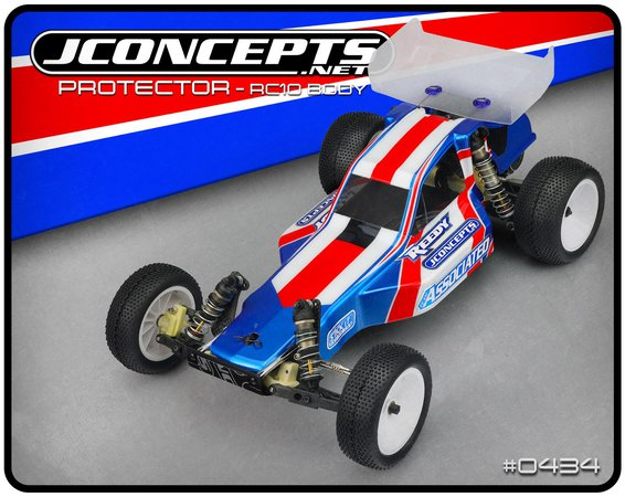 New JConcepts RC10 Protector Body
