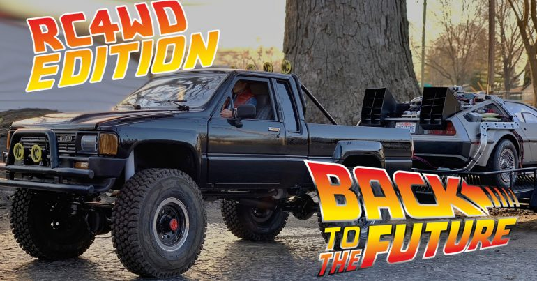 RC4WD Back to the Future Truck Video