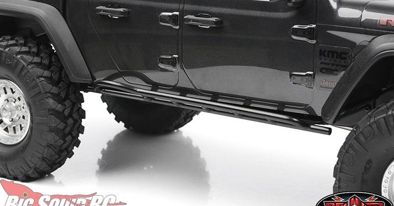 RC4WD Tough Armor Steel Side Sliders for SCX10 III Jeep Gladiator