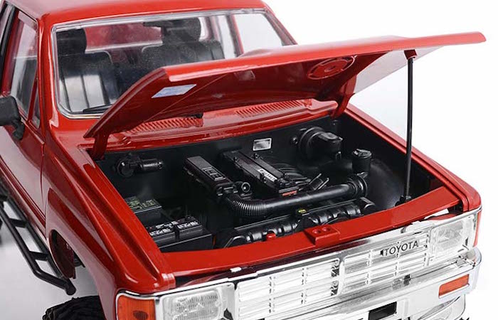 RC4WD: Yota 22RE Engine Bay for the Trail Finder 2