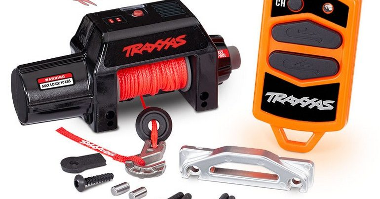 Traxxas Pro Scale Remote Operated Winch for TRX-4 and TRX-6