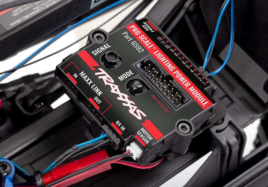 Traxxas TRX-4 Pro Scale Lighting System [VIDEO]