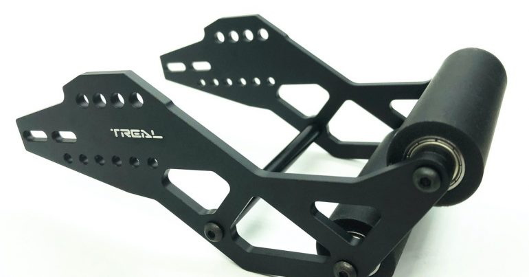 Treal Launches an Adjustable Aluminum Wheelie Bar for the Losi LMT
