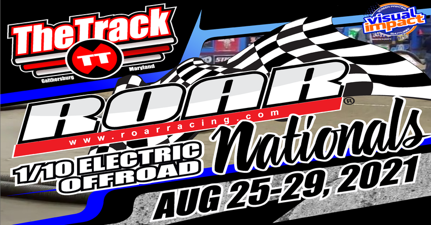 2021 ROAR 1/10th Scale Nationals Sign-Ups