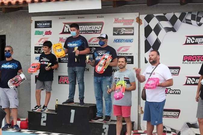 Agelakopoulos Wins RCmaniacs R1 Results