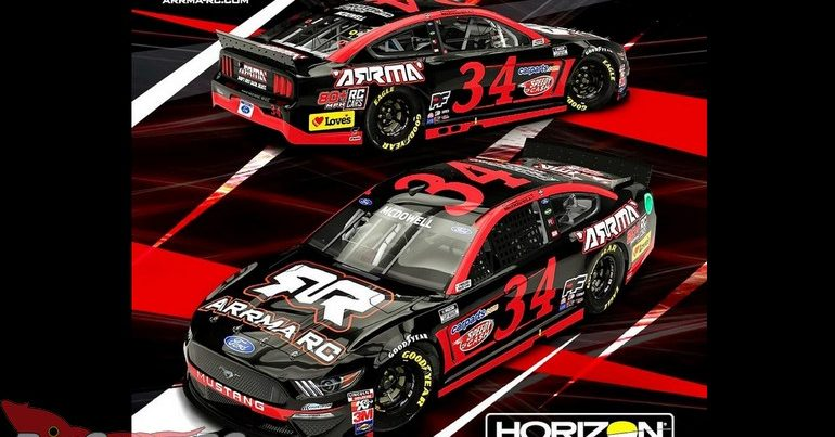ARRMA Partners with NASCAR's Michael McDowell & Front Row Motorsports