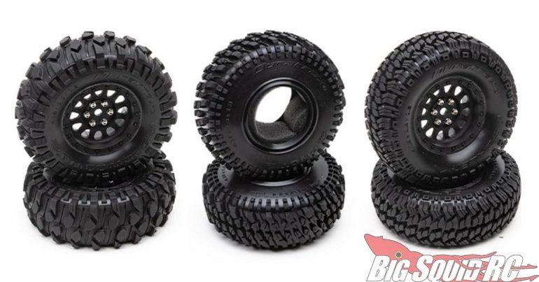 Duratrax Announces Class 1 Scale Crawling Tires