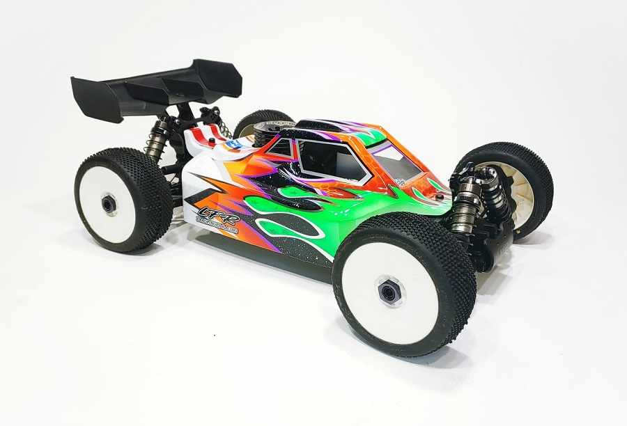 Leadfinger Racing A2.1 Tactic Clear Body For The XRAY XB8 21′ Nitro & Electric Buggies