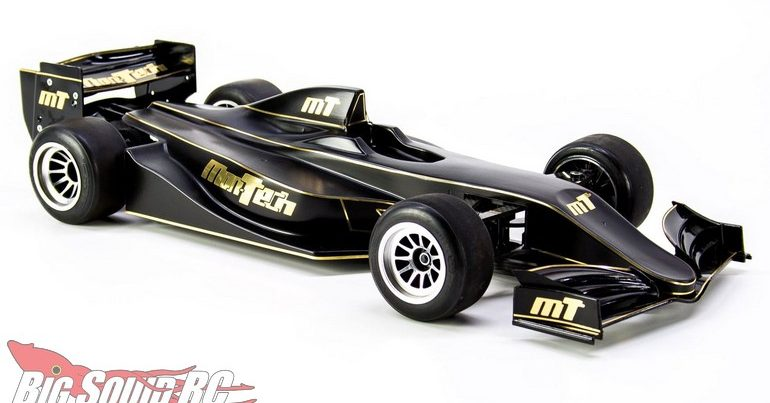Mon-Tech Racing F22 Clear Body for F1 Cars