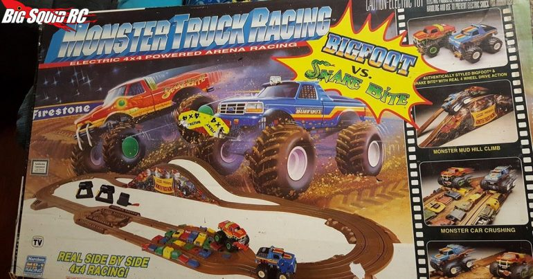 Monster Truck Madness – Marchon's Monster Truck Racing Slot Car Set from the 90's