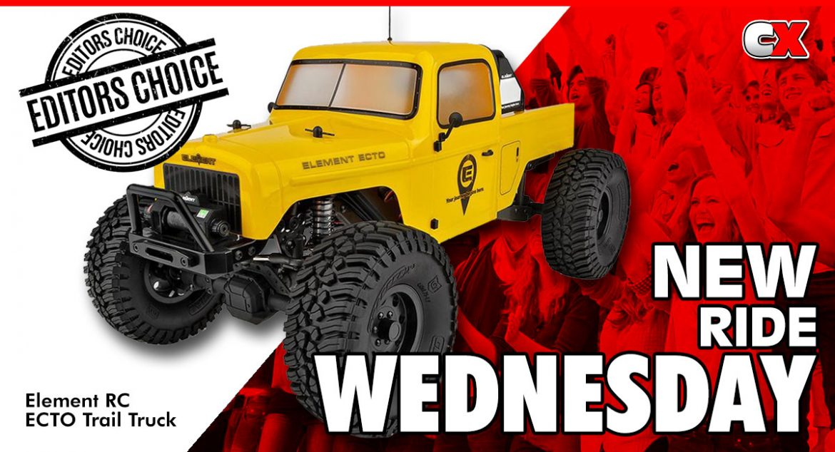 New Ride Wednesday – Element RC ECTO Trail Truck   CompetitionX