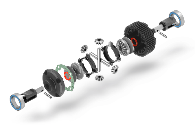 New Xray XB2 Active Differential