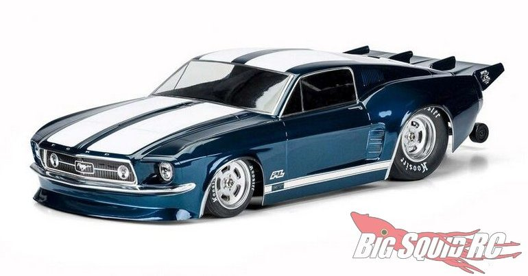 Pro-Line 1967 Ford Mustang SC Drag Car Body