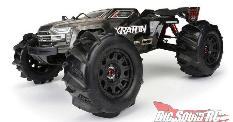 Pro-Line Dumont 3.8″ Paddle Tires Mounted