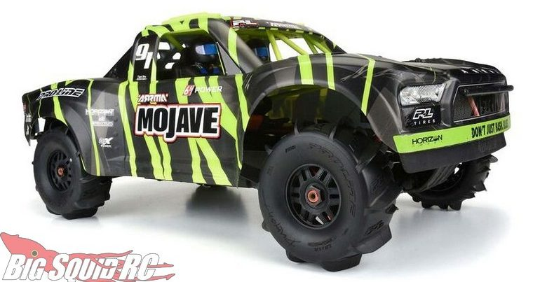 Pro-Line Dumont Paddle Tires Mounted for ARRMA Mojave