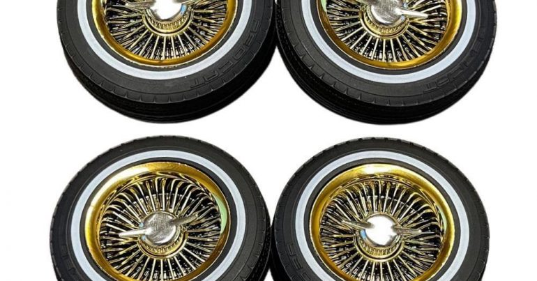 Redcat Racing Releases Gold Wheels for the Redcat SixtyFour Lowrider