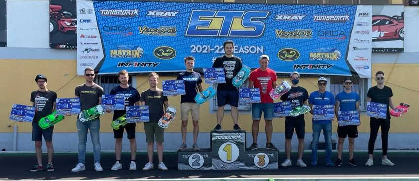 2021 ETS Round 1 Race Report From Team Xray