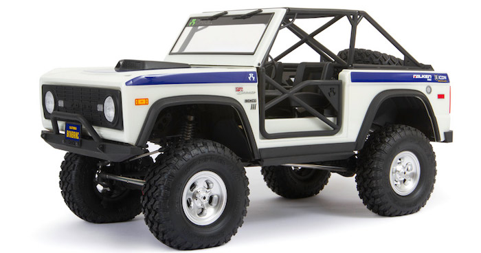 Axial: Early Ford Bronco – SCX10 III RTR