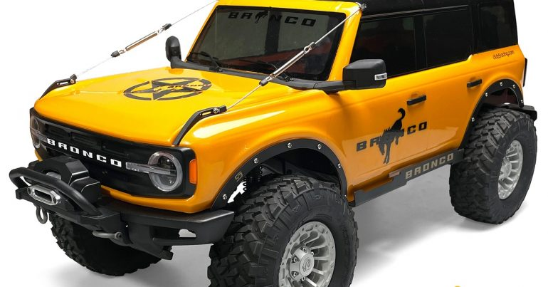 Club 5 Racing Releases a Fender Delete Kit for the Traxxas TRX-4 '21 Ford Bronco
