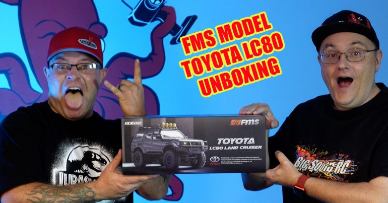 FMS Model Toyota LC80 Land Cruiser Unboxing Video