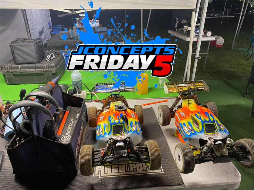 Friday5 With Team Driver Angus Matheson