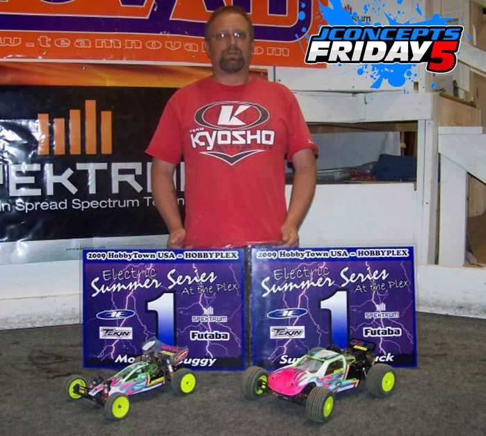 Friday5 With Team Driver Brian Cox