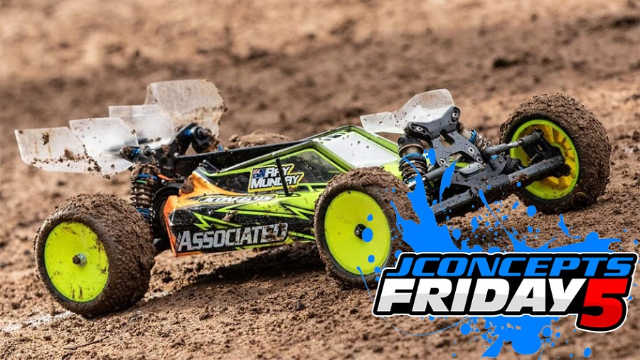 Friday5 With Team Driver Ray Munday
