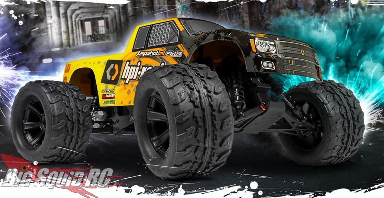 HPI Racing Now Shipping Flux Powered Jumpshot Series Trucks