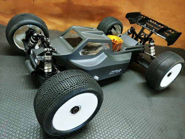 New Leadfinger Racing D8T Bruggy Body