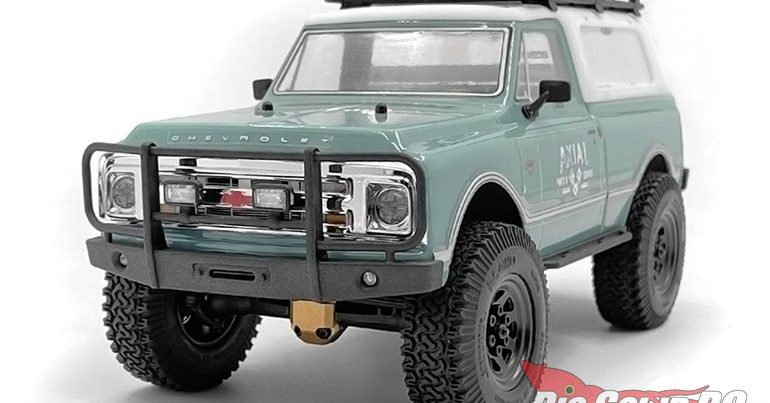 RC4WD Micro Series Tube Front Bumper w/ Flood Lights for the SCX24 1967 Chevrolet C10