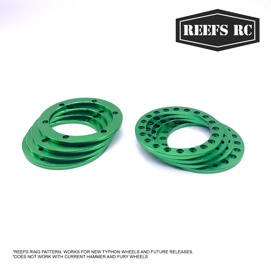 Reef's RC 4 Inner & Outer 1.9″ Rings