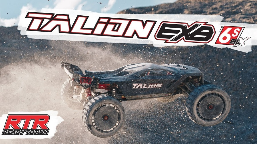 The Unstoppable ARRMA TALION 6S BLX EXB Speed Truggy RTR [VIDEO]