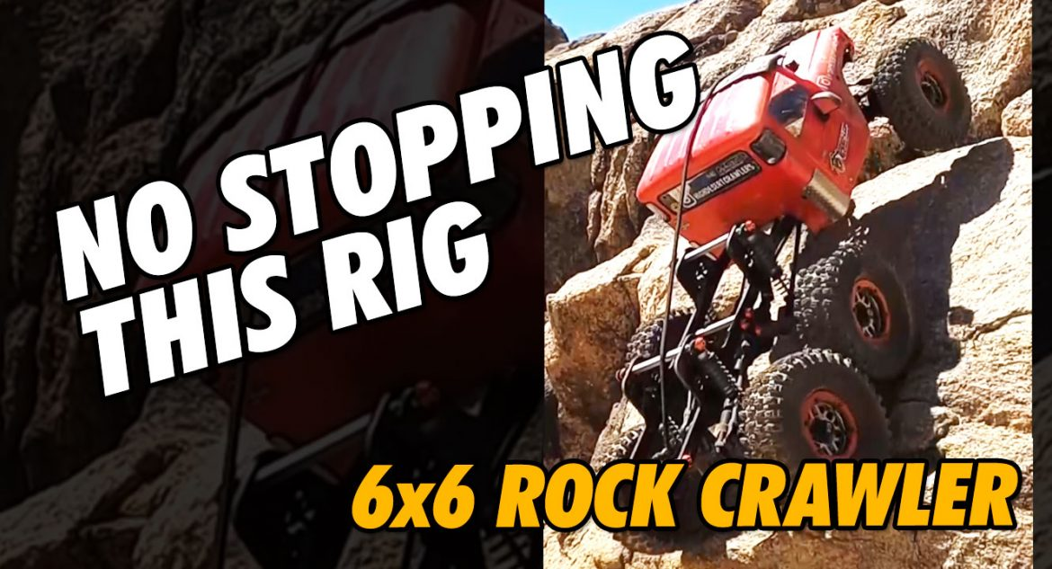 Video – Stretched 6×6 Amazing Uphill Climb #Shorts | CompetitionX