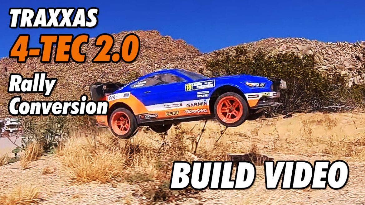 Video: Traxxas 4Tec 2.0 Rally Car Conversion – The Build | CompetitionX