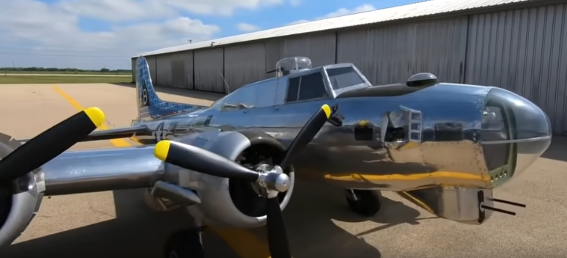1/3-Scale Home-Built B-17 Bomber