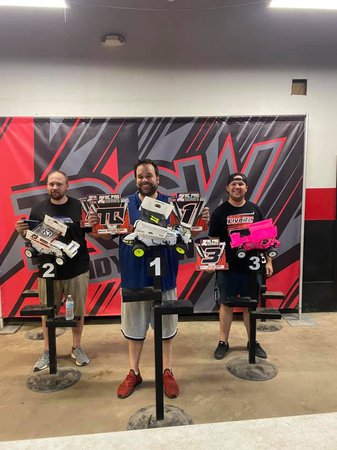2021 RC Pro Oval Finals Results and Series Results