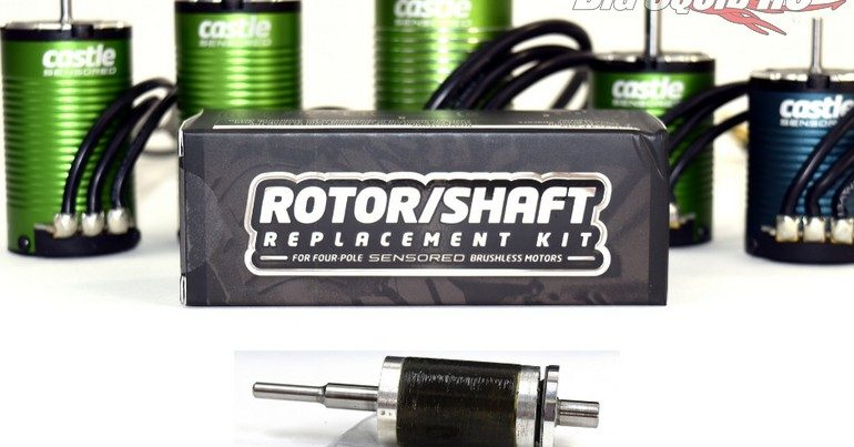 Castle Creations Rotor Replacement Kits for 14XX & 15XX Series Motors