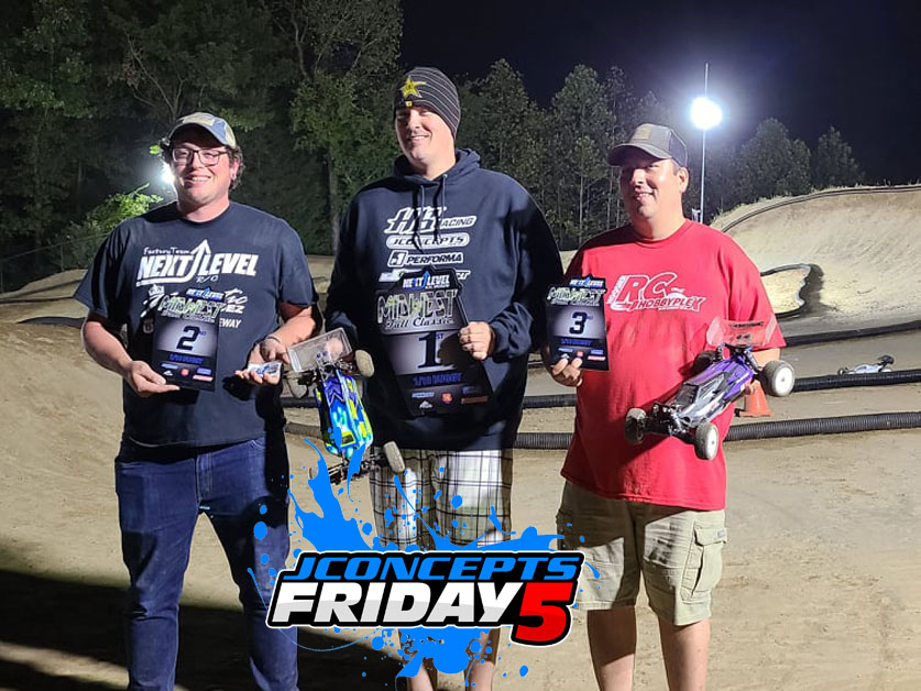 Friday5 With Team Driver Ryan Mcclain
