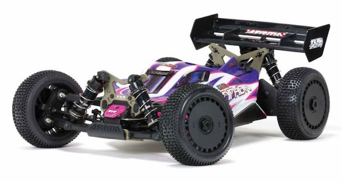 ARRMA: TLR Tuned TYPHON buggy – Under The Hood