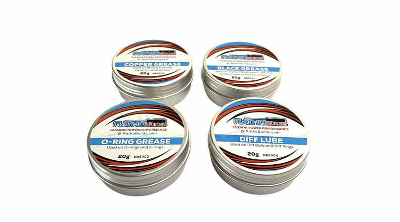New Nathobuilds Lubes and Greases