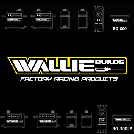 New Wallie Builds and JTPRC Edition Nitro Pro Servos