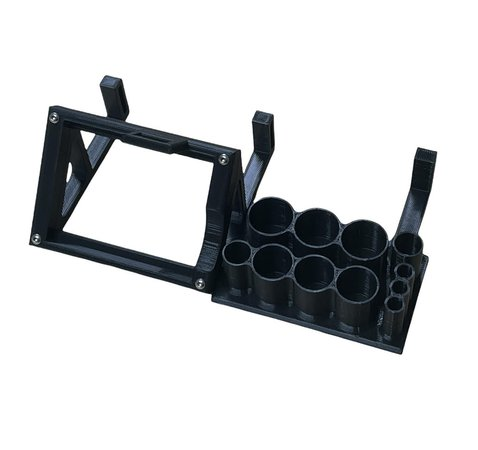 New WB Factory Racing Products X6 Charger Stand and Tool Rack