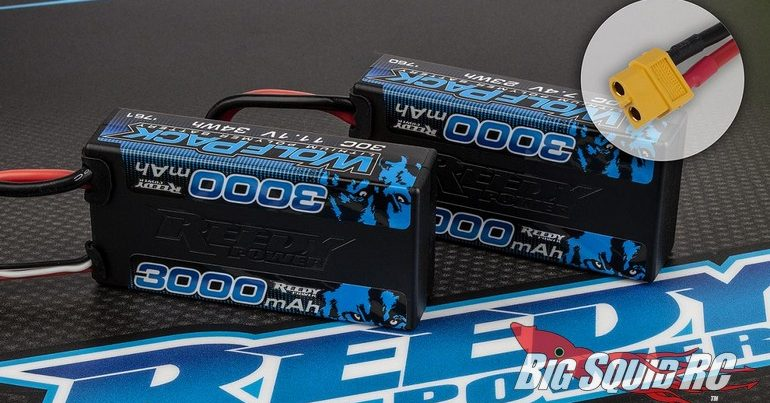 Reedy WolfPack Shorty LiPo Batteries with XT60 Plug